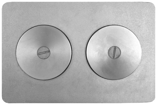 Плита с двумя отверстиями для конфорок №2А.1 — П2-7А.1