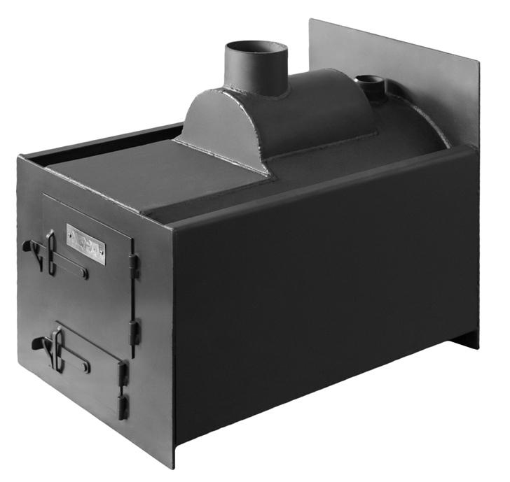 Отопительная печь комбинированного действия «Конвект универсал 700П У»