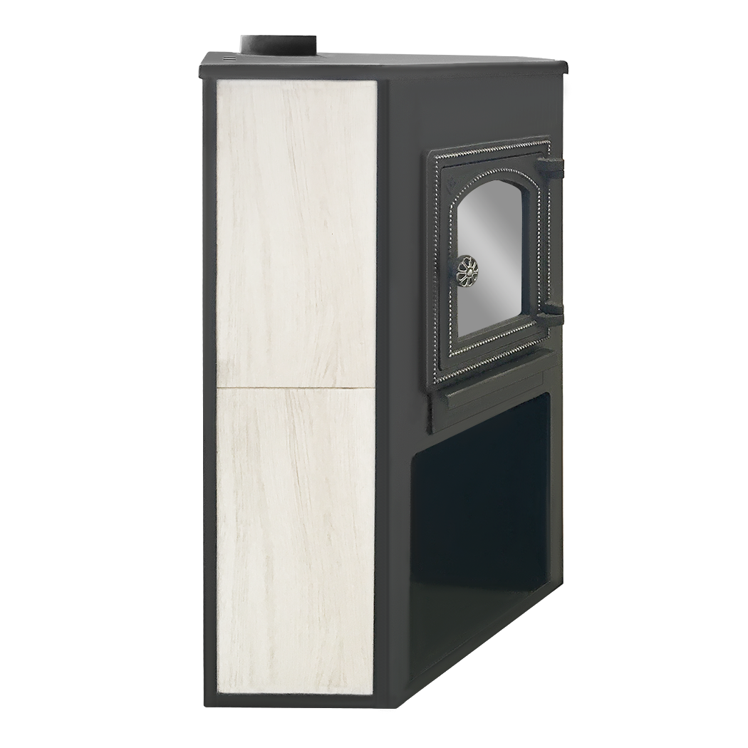 Печь-камин ЭТНА (ДТ-4С) угловой 9кВт